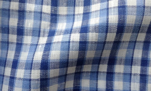 Blue Checkeded
