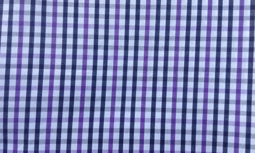 Blue, Purple Checkered