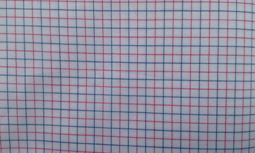 Blue & Red Checked
