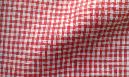 Bold Red Checkered