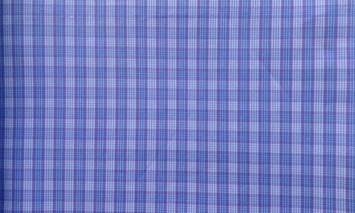 Bright Blue Checkered