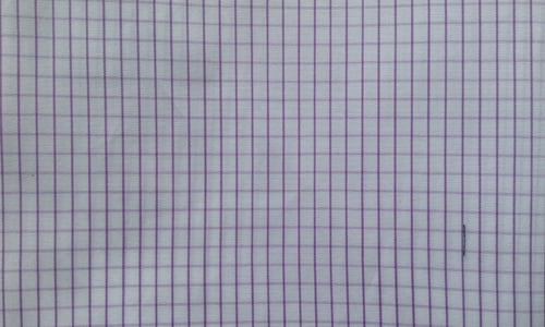 Purple Small Pin Checked