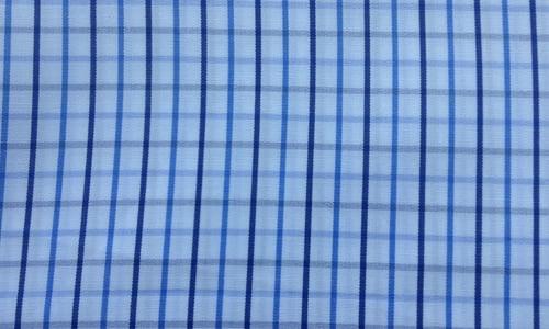 Thin Blue Checkered