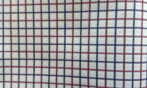 Blue to Red Checked